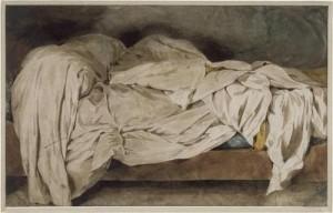 Delacroix Unmade Bed