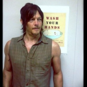 Figure 1. Get yr flu shot. Daryl Dixon said so.