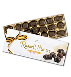 Figure 2. Russell Stover All Dark Assortment. Courtesy of my diabetic father.