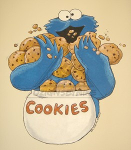Figure 1. The Cookie Monster of yesteryear.