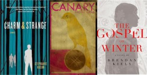Figure 2: Charm & Strange (Kuehn), Canary (Alpine) & The Gospel of Winter (Kiely)