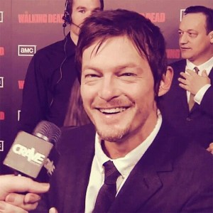 Figure 1. Norman Reedus, being his beautiful, excellent self. This has nothing to do with writing.