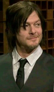 Figure 1. Look, Norman Reedus is sideways-smiling. This has nothing to do with anything.