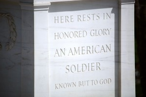 Figure 1. detail from the Tomb of the Unknown Soldier, Arlington National Cemetary