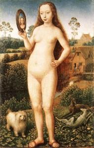 Figure 1. Vanity by Hans Memling