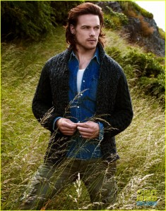 Figure 1. Look! Sam Heughan For No Reason!